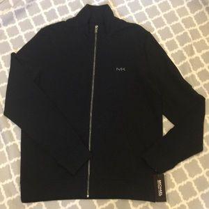 NWT Men's Michael Kors Full Zip Mock Neck Jacket